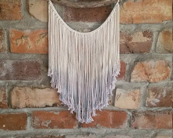 Ombre Dip Dyed Macrame wall hanging