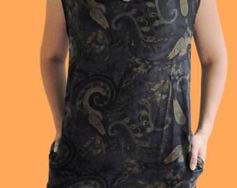 Peekaboo Neckline, Pocket Dress