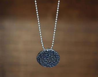 "Necklace ""Nami"" silver 925. Handmade single piece."