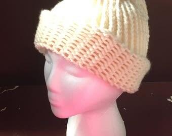 Cream Hat