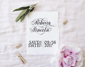 Save the Date Template, Save the Date Cards, Wedding Save the Date Printable, Printable Save the Date Templates, Rustic Save the Date