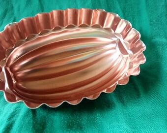 Copper Colored Jello Mold - 10 in