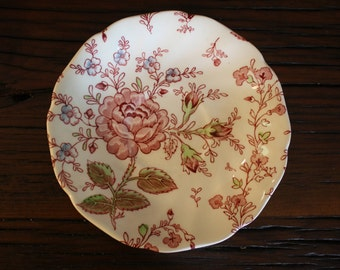 Johnson Brothers Rose Chintz Saucers (4)