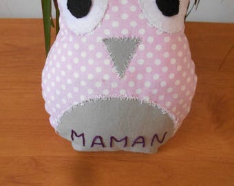 Personalized OWL plush