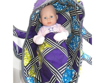 Small baby bassinet model wax 30 cm