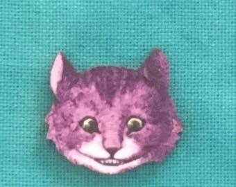 Chrshire Cat Vintage Wonderland Needle MInder