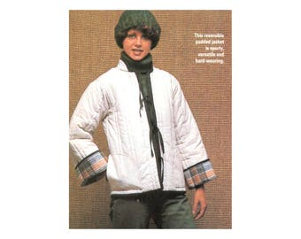 Padded Jacket & VestSewing Pattern