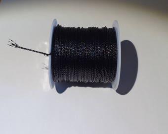 For jewelry 1 meter black nylon thread