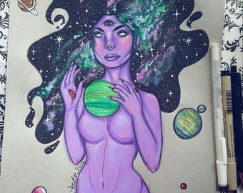 Celestial Goddess | Print |