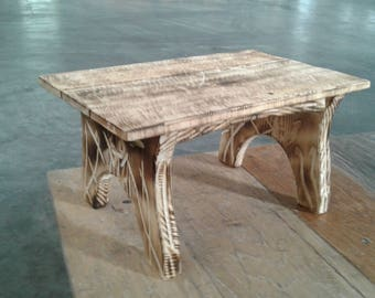 Wooden Oat Table