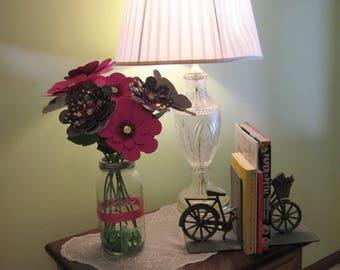 Midnight Garden Paper Flower Arrangement