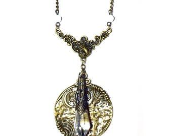 Pendant necklace elven Belenos