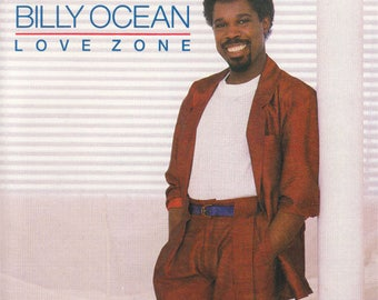 Billy Ocean Love Zone Cassette Tape Music 1986 Arista There'll Be Sad Songs When The Going Gets Tough
