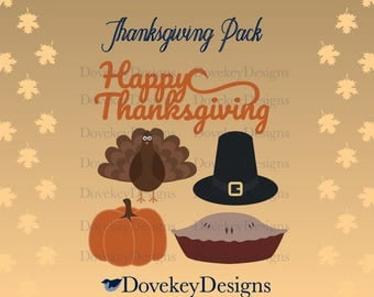 Thanksgiving Pack for Cricut/Silhouette (svg)