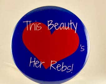 Ole Miss Themed Button