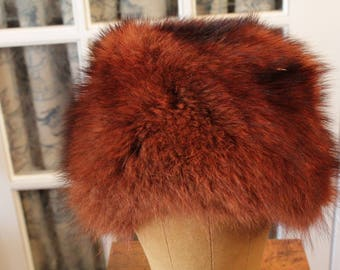 Dyed Mink Winter Hat