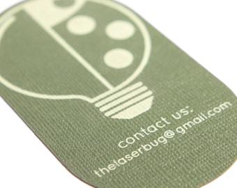 Custom Laser Cut & Engraved Business Cards