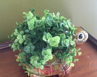 Turtle Ceramic Planter