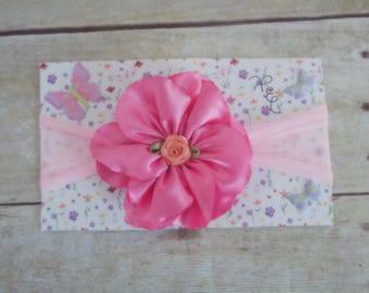 Flower headband, baby hair flower accessorie, hair accessorie, girls hair accessories, flower girl headband