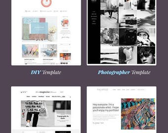 The Best (7in1 Bundle) - Multi-Purpose WordPress Theme for Bloggers, Professionals and Artists
