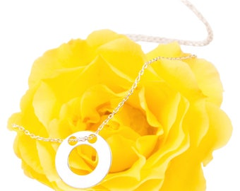Double Open Circle Necklace