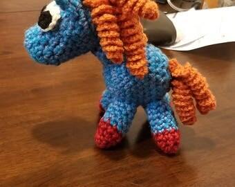 Magic Horse Crochet Puppet