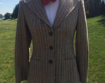 Excellent 1970's wool tweed blazer.