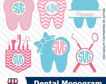 Dental, dental monogram, dental SVG, dentist tooth, SVG file,cuttable design,screen printing,silhouette, #016-svg