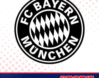 Bayern silhouette, sport silhouettes, Soccer silhouette SS-SO-005