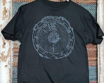 Vintage Galileo Solar System teeshirt