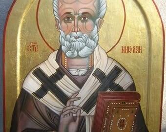 St.Nicolas,Orthodox Byzantine icon