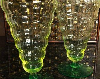Utility Glass Vaseline Cambodia Drinkware