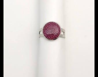 Pink Adjustable ring