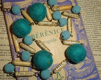 My blue Berenice (tragic necklace)