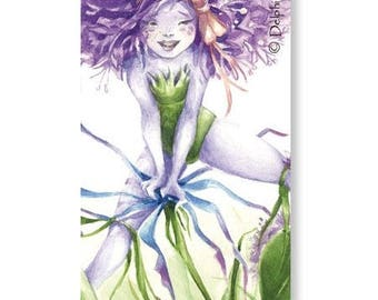 Bookmarks - garlic! Life is beautiful! -Delphine striker illustration