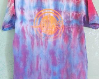 Tie Dye t-shirt Orange XL