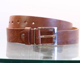 Leather Belt Natur