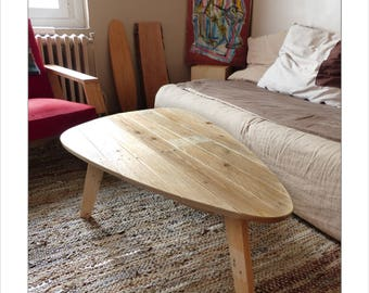 Design retro coffee table - Upcycling