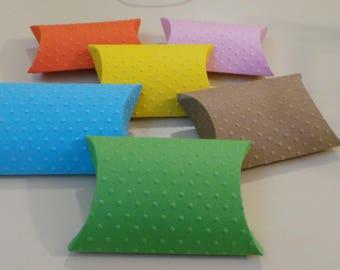 20 Pillow Box Polka Dots