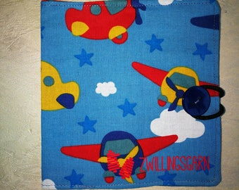 Büchlehülle, airplane, for kids, Coverbook, gift, plane, present for young