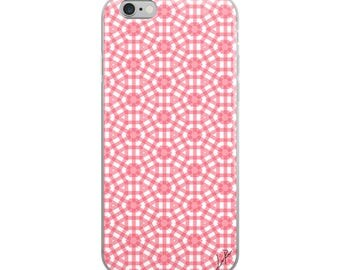 The Pink Rose iPhone Case