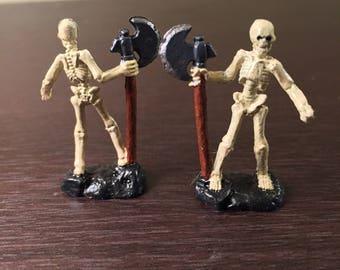 Skeleton Warrior DnD Mini ~ Fully Painted ~