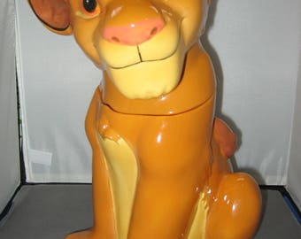 Lion King Cookie Jar