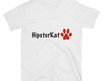 Hipsterkat Short-Sleeve