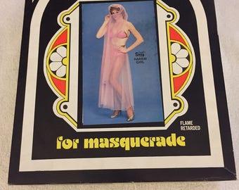 Collegeville Vintage Costume - Pink Masquerade Harem Girl