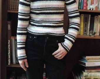 90s vintage striped sweater