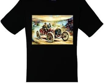 T-shirt for women and men car 7a