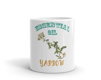 Essential Oil Yarrow Mug