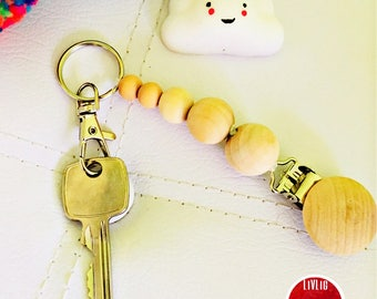 Keycharms Wooden Crafts ( Plain )