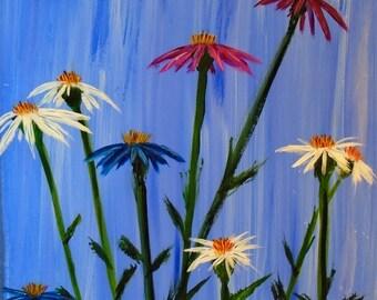 Dancing Cone-flowers